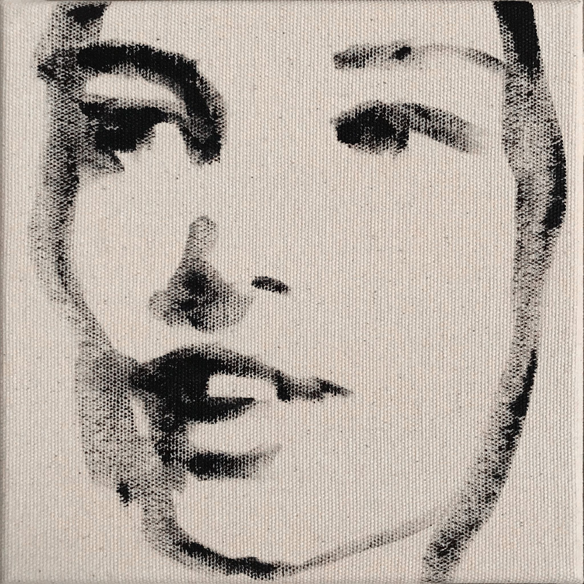 Brooke 15x15 cm acrylics on canvas