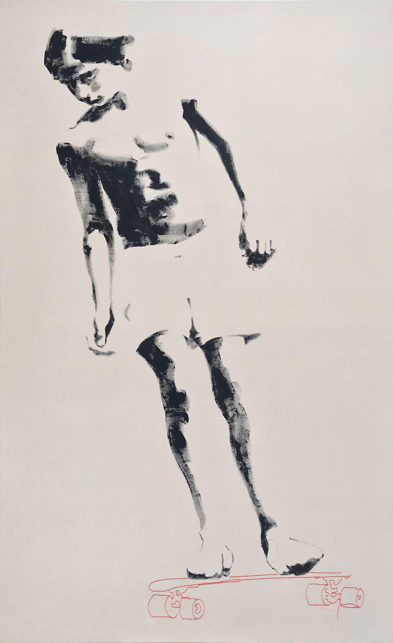 Drifting 180x110 cm acrylics on canvas #SOLD