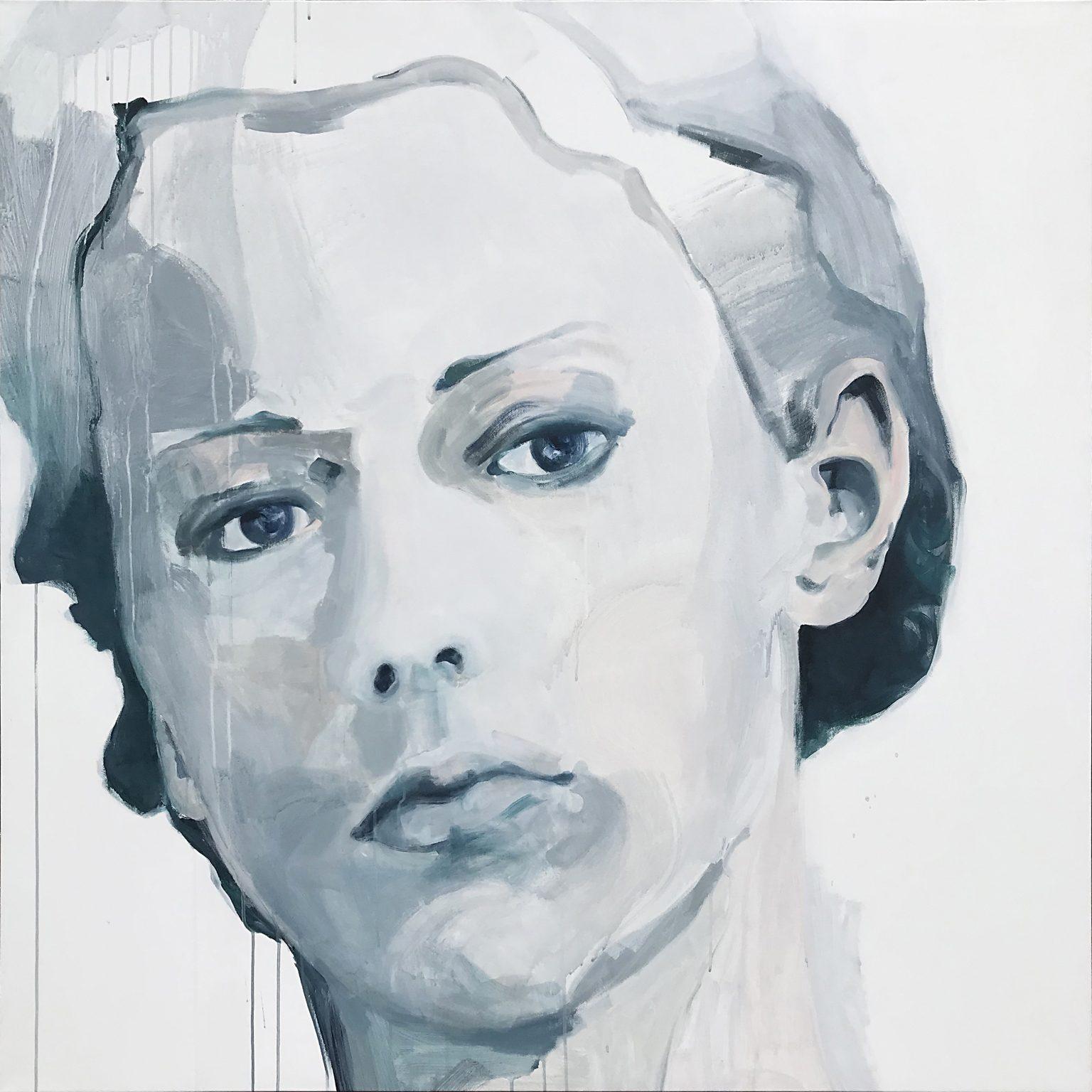 Et Alors 135x135 cm acrylics on canvas #SOLD