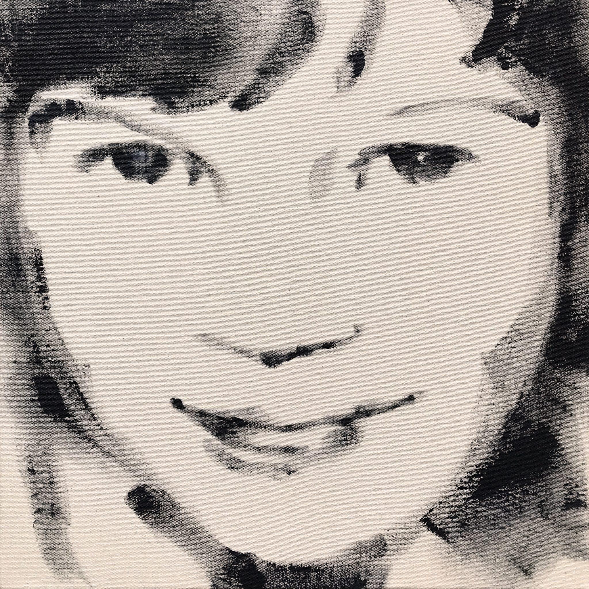 Kate 42x42 cm acrylics on canvas