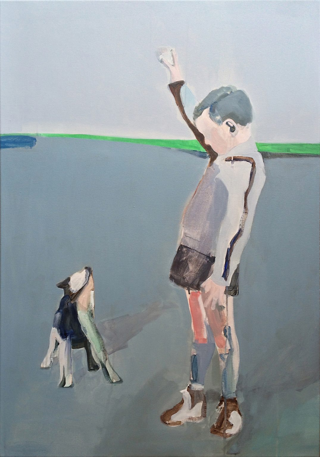 Boy 100 x 70 cm acrylics on canvas #SOLD