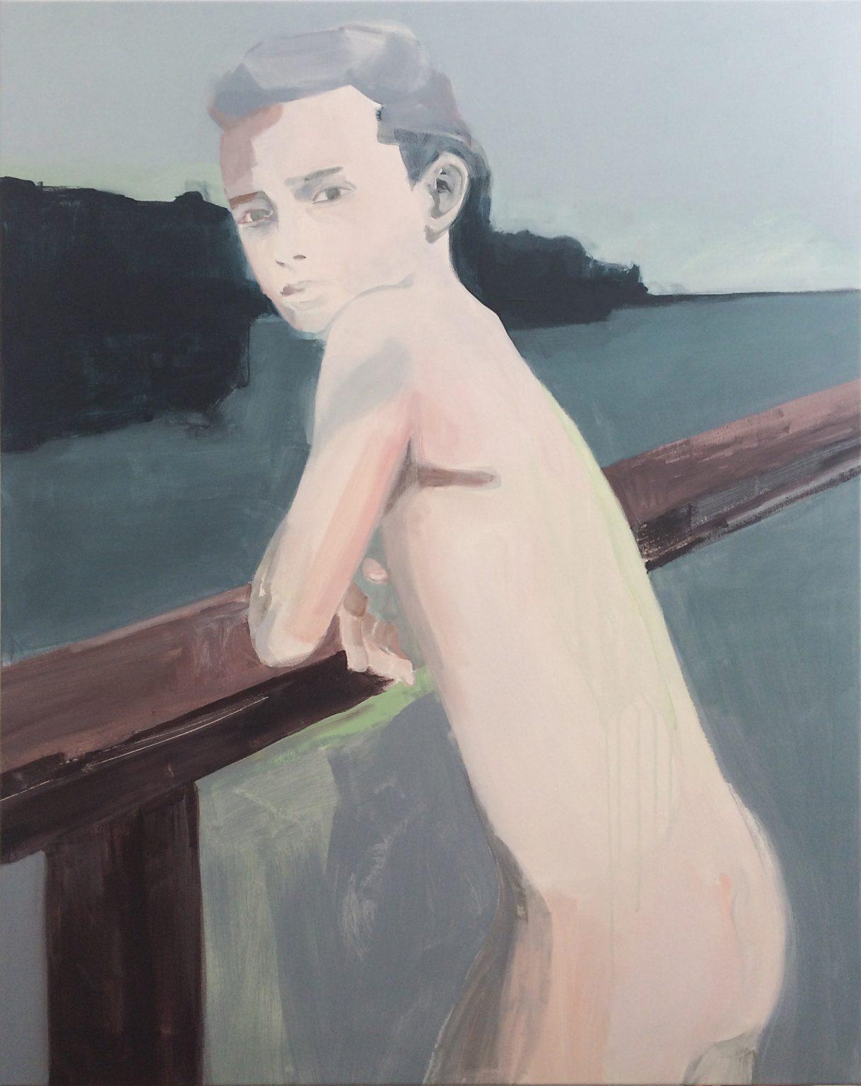 Lake 120x95 cm acrylics on canvas