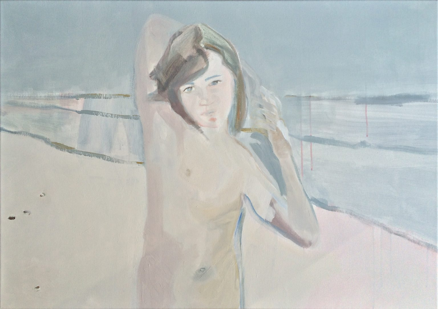 Sand 70x100 cm acrylics on canvas #SOLD