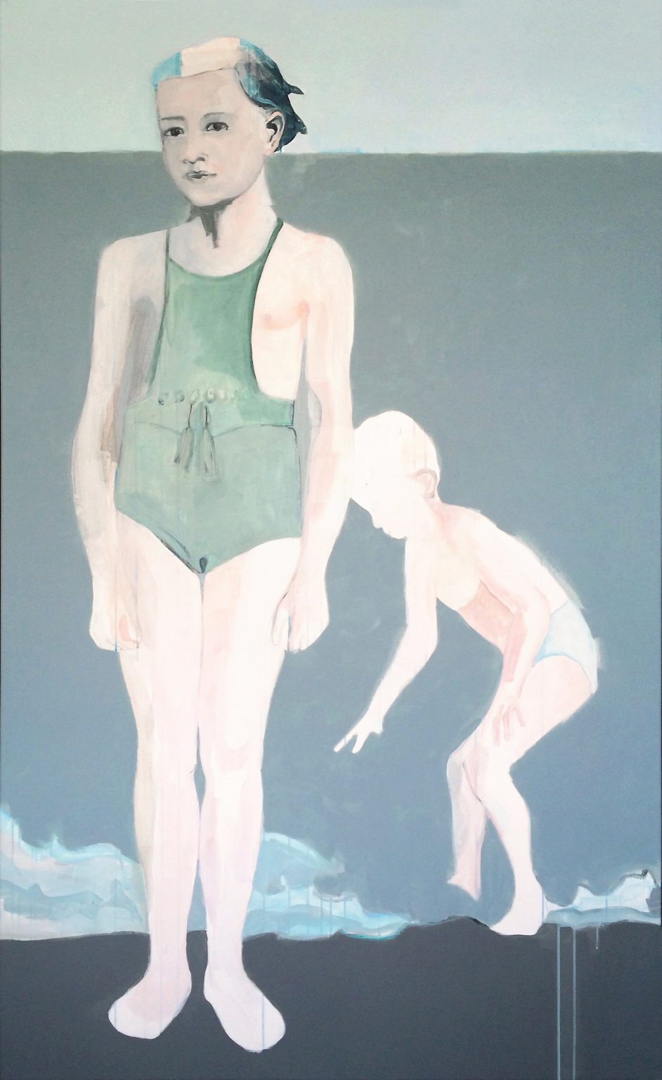 she's my older sister 190x125cm acrylics on canvas #SOLD